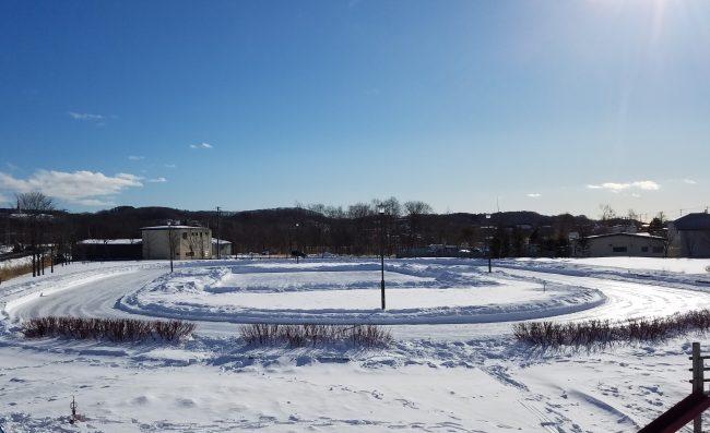 ドライフ スケート とおや恵公園