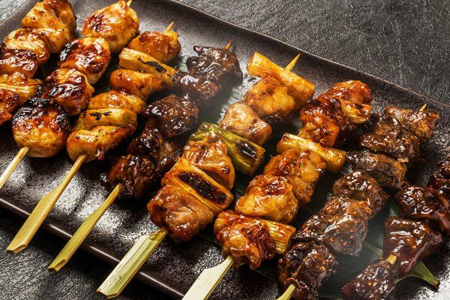 やきとり YAKITORI Japanese chicken barbecue