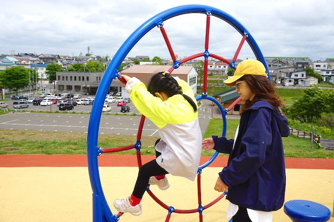 釧路 緑ケ岡公園の遊具