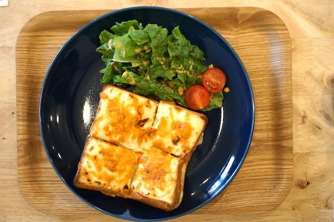 釧路 緑ヶ丘にあるcafe fika(かふぇ ふぃーか)のクロックムッシュ