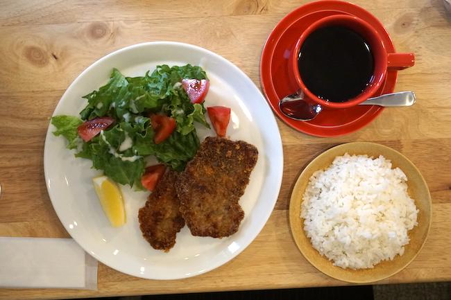 釧路 緑ヶ丘にあるcafe fika(かふぇ ふぃーか)の日がわりランチ