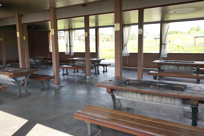 釧路 緑ケ岡公園のバーベキュー場