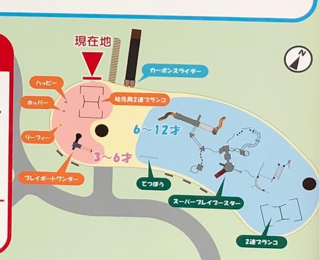 釧路 緑ケ岡公園の地図