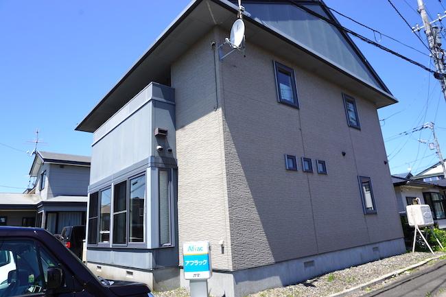 釧路のキッチンスタジオ「tanomana.studio」の外観