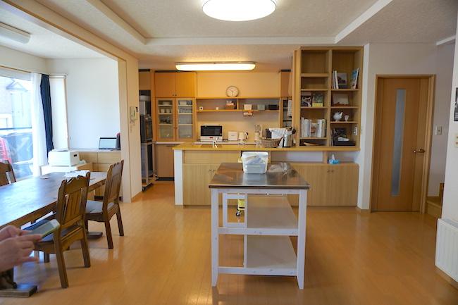 釧路のキッチンスタジオ「tanomana.studio」の内観