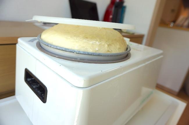 釧路のキッチンスタジオ「tanomana.studio」で使用するパン生地
