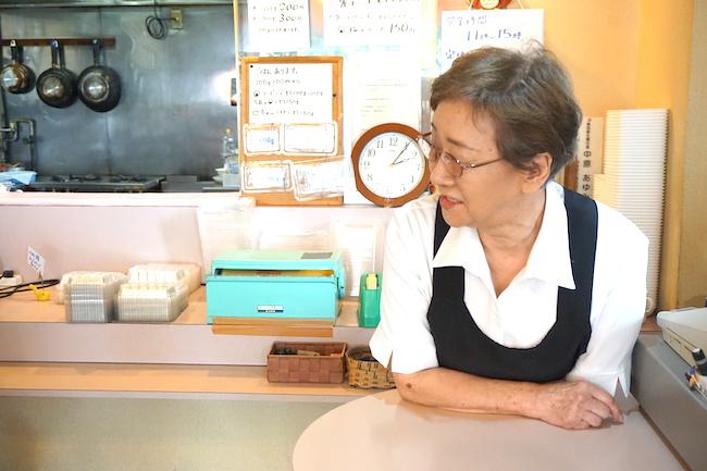 愛国西にある釧路おかず工房 なかはらを営む中原真佐子さん