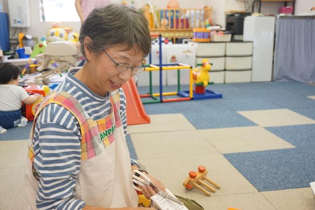 保育ルームHAY HOME(ハイホーム)の黒谷ひろみ先生