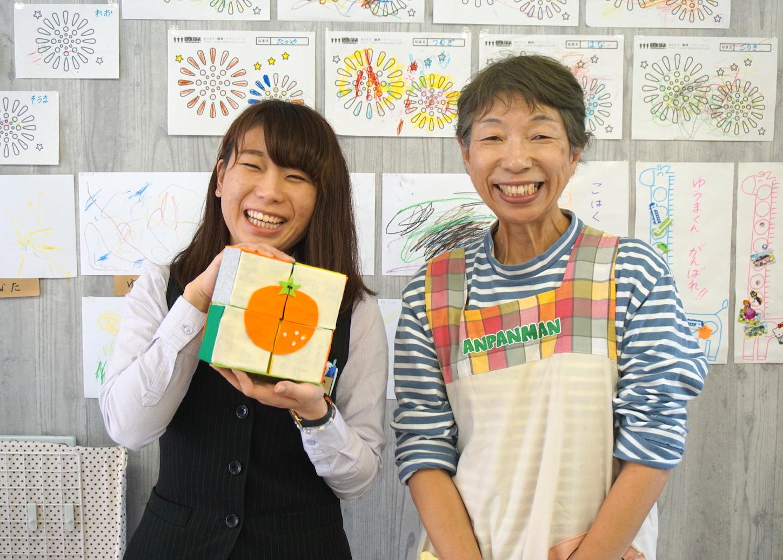 幼児向けおもちゃサイコロパズルを釧路の保育ルームHAYHOME(ハイホーム)さんと作ってみた!