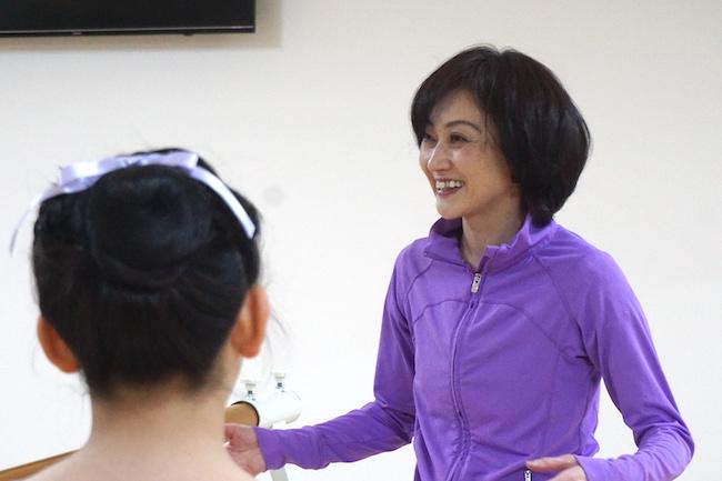 釧路のバレエスクール ティアラの講師である長尾千晶さん
